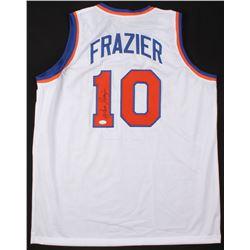 Walt Frazier Signed New York Knicks Jersey (JSA COA)