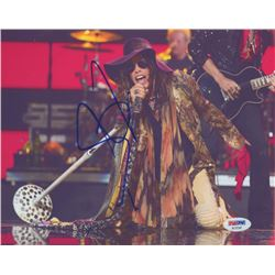 "Steven Tyler Signed ""Aerosmith"" 8x10 Photo (PSA COA)"