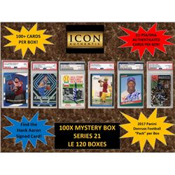 ICON AUTHENTIC  100X MYSTERY BOX SERIES 21 100+ Cards per Box