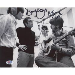Davey Jones  Peter Tork Signed 8x10 Photo (PSA COA)