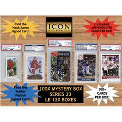 Icon Authentic 100X Mystery Box Series 23 - (100+ Cards Per Box)