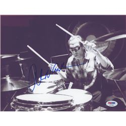 Alex Van Halen Signed 8.5x11 Photo (PSA COA)