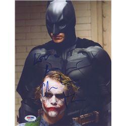 "Christian Bale Signed ""Batman"" 8x10 Photo with Inscription (PSA COA)"