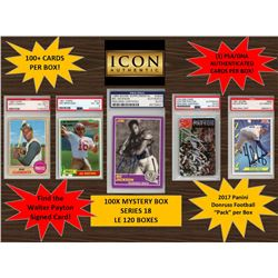 ICON AUTHENTIC  100X MYSTERY BOX SERIES 18 100+ Cards per Box