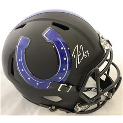 Darius Leonard Signed Indianapolis Colts Full-Size Speed Helmet (JSA COA)