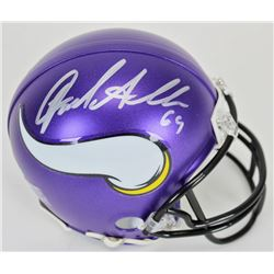 Jared Allen Signed Minnesota Vikings Mini Helmet (Beckett COA)