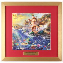 "Thomas Kinkade Walt Disney's ""The Little Mermaid"" 17.5x18 Custom Framed Print"
