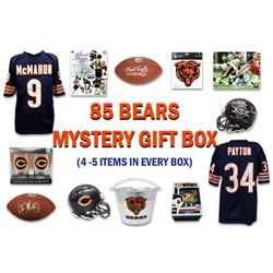 1985 Chicago Bears World Champs Mystery Autograph Gift Box – Series 6 (Limited to 85) (4-5 Items I