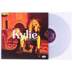 "Kylie Minogue Signed ""Golden"" Vinyl Record Album (PSA COA)"