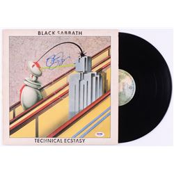 "Ozzy Osbourne Signed Black Sabbath ""Technical Ecstasy"" Vinyl Record Album (PSA COA)"