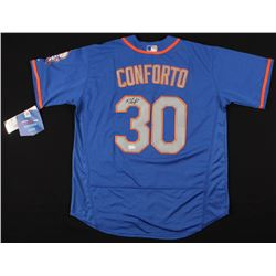 Michael Conforto Signed New York Mets Jersey (JSA COA)