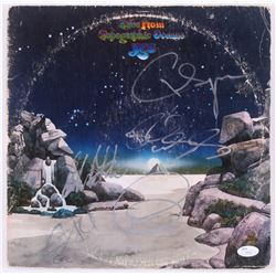 "Yes ""Fragile, Close to the Edge and Tales from Topographic Oceans "" Vinyl Record Album Signed by (5)"