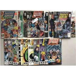 Lot of (41) 1987 Marvel Justice League Comic Books