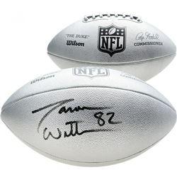"Jason Witten Signed ""The Duke"" Silver Official NFL Game Ball (Fanatics Hologram)"