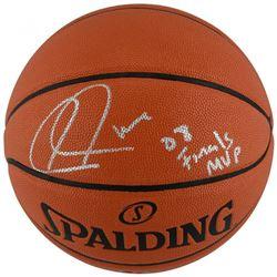 "Paul Pierce Signed Basketball Inscribed ""08 Finals MVP"" (Fanatics Hologram)"