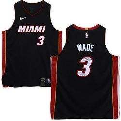 "Dwyane Wade Signed Miami Heat Jersey Inscribed ""06 Finals MVP"" (Fanatics Hologram)"