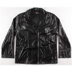 """Jeffrey Dean Morgan Signed """"The Walking Dead"""" Leather Jacket (Radtke COA)"""