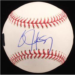 Bo Jackson Signed OML Baseball (Radtke COA  Jackson Hologram)