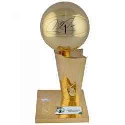"Paul Pierce Signed Boston Celtics Replica ""2008 Champion"" Larry O'Brien Trophy (Fanatics Hologram)"