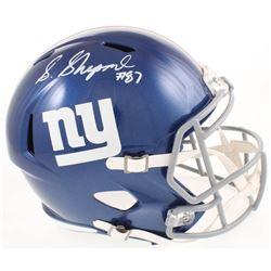 Sterling Shepard Signed New York Giants Full-Size Speed Helmet (Fanatics Hologram)
