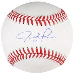 Justin Turner Signed OML Baseball (Fanatics Hologram)