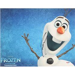 """Josh Gad Signed """"Frozen"""" 11x14 Photo (PSA COA)"""