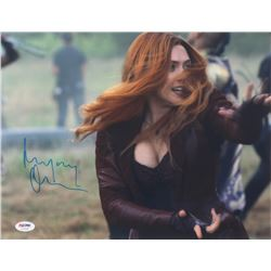 "Elizabeth Olsen Signed ""The Avengers"" 11x14 Photo (PSA COA)"