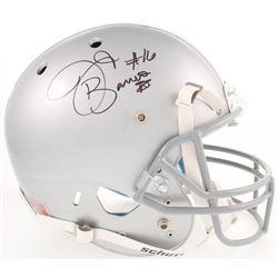 J.T. Barrett Signed Ohio State Buckeyes Full-Size Helmet (Barrett COA)
