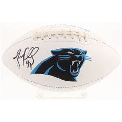 Luke Kuechly Signed Carolina Panthers Logo Football (Radtke COA)