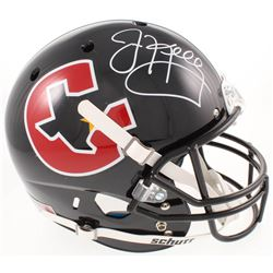 Jim Kelly Signed Houston Gamblers Full-Size Helmet (Radtke COA)