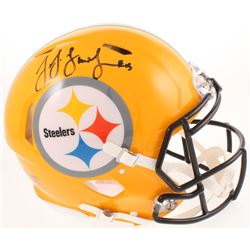 JuJu Smith-Schuster Signed Pittsburgh Steelers Full-Size Authentic On-Field Speed Helmet (Radtke COA