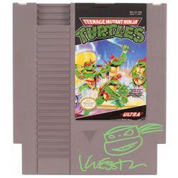 Kevin Eastman Signed Original 1985 Teenage Mutant Ninja Turtles Nintendo NES Video Game with Hand-Dr