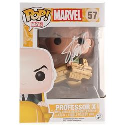 Stan Lee Signed Marvel Professor X #57 Funko Pop! Vinyl Figure (Radtke COA  Lee Hologram)