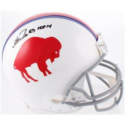 "Andre Reed Signed Buffalo Bills Full-Size Authentic On-Field Helmet Inscribed ""HOF '14"" (Radtke COA)"