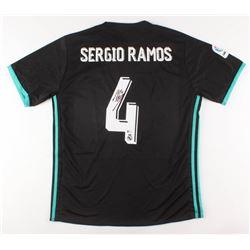 Sergio Ramos Signed Real Madrid 2017 FIFA Jersey (Beckett COA)