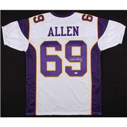 Jared Allen Signed Minnesota Vikings Jersey (JSA COA)