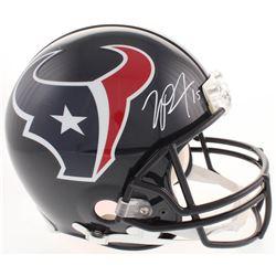 Will Fuller Signed Houston Texans Full-Size Authentic On-Field Helmet (JSA COA)
