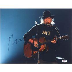 Neil Young Signed 11x14 Photo (PSA COA)