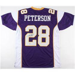Adrian Peterson Signed Minnesota Vikings Jersey (Beckett COA)