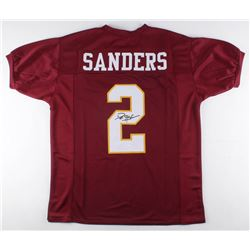 Deion Sanders Signed Florida State Seminoles Jersey (JSA COA)
