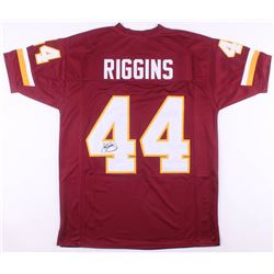 John Riggins Signed Washington Redskins Jersey (JSA COA)