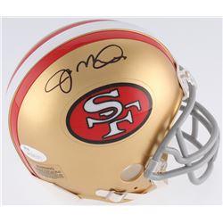 Joe Montana Signed San Francisco 49ers Mini-Helmet (JSA COA)