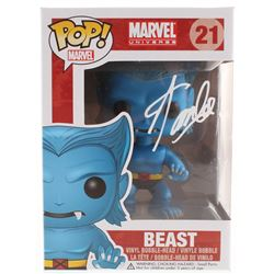 Stan Lee Signed Marvel Beast #21 Funko Pop! Vinyl Figure (Radtke COA  Lee Hologram)