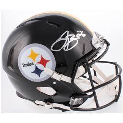 Le'Veon Bell Signed Pittsburghh Steelers Full-Size Authentic On-Field Speed Helmet (JSA COA)