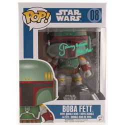 "Jeremy Bulloch Signed ""Star Wars"" Boba Fett #08 Funko Pop! Vinyl Figure Inscribed ""Boba Fett"" (Radtk"