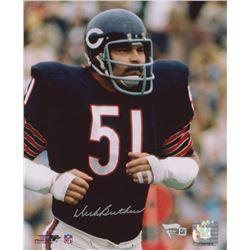 Dick Butkus Signed Chicago Bears 8x10 Photo (Fanatics Hologram)