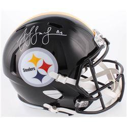 JuJu Smith-Schuster Signed Pittsburgh Steelers Full-Size Helmet (Radtke COA)