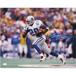 Darren Woodson Signed Dallas Cowboys 16x20 Photo (JSA COA)