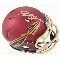 Deion Sanders Signed Florida State Seminoles Speed Mini Helmet (Beckett COA)