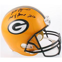 """Brett Favre Signed Green Bay Packers LE Full-Size Helmet Inscribed """"Hall Of Fame 2016"""" (Favre COA)"""